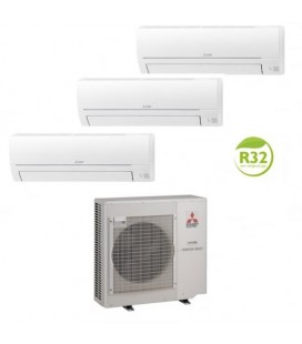 Mitsubishi Electric Multisplit Aer conditionat Mitsubishi Electric Multisplit MXZ-3HA50VF-MSZ-HR35VF R32 R32
