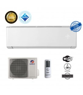 Aer conditionat Gree Amber 12000 BTU, ECO Inverter, A+++, freon R32, Control WiFi, Cold Plasma si Filtru Catechin