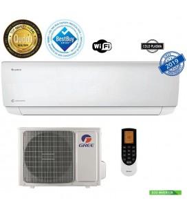 Gree Bora A4 Silver 24000 BTU GWH24AAD-K6DNA4A Inverter, A++, freon R32, Control WiFi, Filtru Silver Ion si Cold Plasma