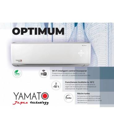 YAMATO AER CONDITIONAT OPTIMUM YW24IG4, 24000 BTU, I FEEL, WI-FI